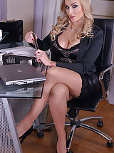 Naughty Office, Kayla Green and Marie Clarence
