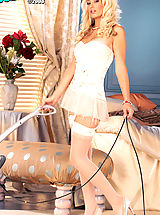 Lingerie Pics: Blond and magnificently gorgeous, this is Tenaya's  first and only XXX shoot!
