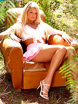 Black High Heels, Heather Starlet looks absolutely gorgeous showing off her beauty in nature.