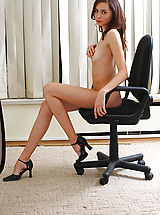 Secretary Pics: Astonishing Angel at Work
