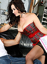 Jayden Jaymes,American Daydreams,Billy Glide, Jayden Jaymes, Model, Couch, Garage, Ass licking, Ball licking, Great Ass, Huge Dick, Huge, Blow Job, Brunette, Deepthroating, Facial, Fake Breasts, Lingerie, Piercings, Shaved, Stockings, Tattoos,