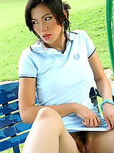 upskirts, Asian Women wang xiao hong 03 sporty asian women