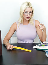 Mrs. Kain,My First Sex Teacher,Donny longer, Lauren Kain, Bad Girl, Professor, Teacher, Classroom, Desk, United states, Arsch licking, Ass smacking, Ball licking, Large Dick, Massive Fake Boobies, Large Jugs, Blonde, Blow Job, Bubble Butt, Caucasian, Deep