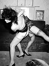 silk stockings, Old Fashioned Nudes
