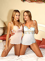 Strap-On Play with Bernice and Blue Angel in the Bedroom