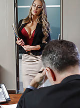 Nicole Aniston, Charles Dera, Keiran Lee in Nicole's Work Is Never Done