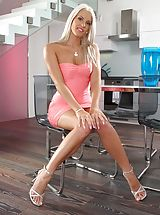 Naughty Office, Photo Scene No. 954 Sexy Girl Blanche Bradburry Undressed