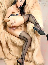 fully fashioned stockings, Asian Women amara ranipas 34 secretary stockings heels