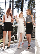 Stiletto Shoes, Aislin,Alexis Crystal,Morgan Rodriguez