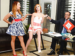 Alex Tanner and Dani Jensen,Naughty Rich Girls,Kurt Lockwood, Dani Jensen, Alex Tanner, Bad Girl, Rich Girl, Couch, Office, 69, American, Ass licking, Ass smacking, BGG, Blow Job, Brunette, Caucasian, Cum in Mouth, Deepthroating, Facial, Green Eyes, Hand