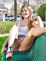 Midi Skirts, Naked Babe Cassidy Legs Made For Upskirt