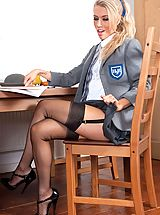 Naughty Office, Michelle Moist - Angle of the dangle!