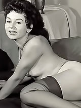 nylons, Old Fashioned Nude Ladies