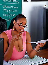 Teen Dreams Pics: Carmen Hayes gets fucked on her desk
