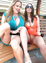 Upskirt Pics: Kelly Madison, Ryan Madison, Angela White