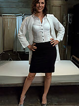 Office Sex, Bobbi Starr gets double penetrated in bondage and role play.