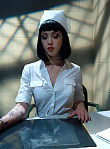 Sexy Legs, Sexy nurse overpowered, bound and helplessly fucked by patient