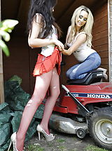 Stiletto Shoes, Amy Alexandra and Cat O Connell