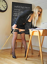 Amy Alexandra and Miss Elise Nude at St. Mackenzies School
