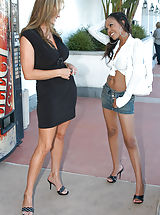 Six Inch Heels, Instead of doing the normal grocery shopping Kelly brought home the other dark meat, Lacey.