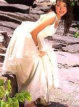 Lingerie Pics: Asian Women amika 17 forest bride bridal lingerie