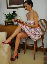 Black High Heels, Teacher Miss Nadja