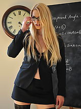 Secretary Fuck, Amy Alexandra and Miss Elise Nude at St. Mackenzies School