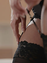 cheap lingerie, Black Lace Bliss