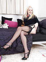 Topless Wife in Sexy underwear Bryony is switched on and wanting satisfaction! Only 1 thing for information technology, down together with her uniform, and a beneficial wanking session! Hot Women in Nylons