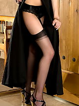 clubwear stockings, Ami Starr