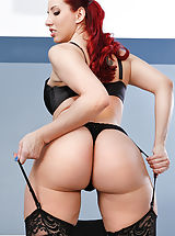 sexy stockings, Kelly Divine