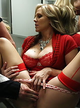 Black High Heels, Julia Ann, Kelly Madison, Ryan Madison