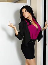 Naughty Office, Romi Rain