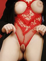 french lingerie, Heather C2  nude