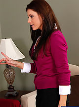Classy Legs,Gorgeous MILF India Summer is horny and decides to get fucked by one of her sons friends.