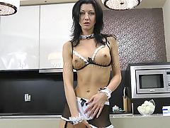 7,SEXY MAID Elbow Deep Fisting  HARD FUCK HER ASS WITH BIG PLUG AND PROLAPSE