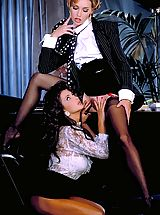 Suze Randall Pics: Alexandria and Renee's bodies intertwine and make passionate love to one another in the most delicate shapes.