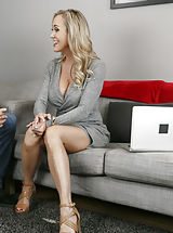 Blue High Heels, Brandi Love